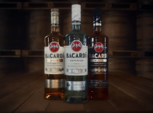New Look for Bacardi Rum Bottles