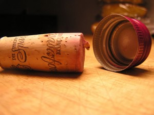 Cork versus Screw Cap